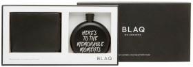 Blaq-Wallet-and-Flask-Set on sale