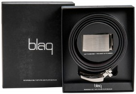 Blaq-Pin-and-Plate-Buckle-Belt-Gift-Set on sale