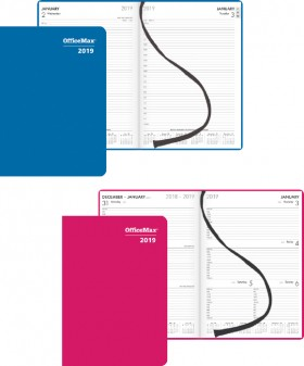 OfficeMax-Coloured-Cover-Diaries on sale