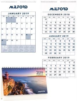 Milford-Calendars on sale