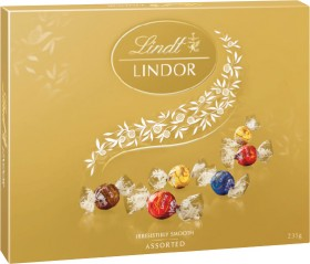 Lindt-Lindor-Chocolates-Gift-Box-235g on sale