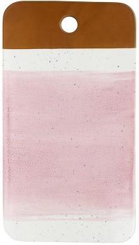 Mediterranean-Cheese-Board-38x21cm-Reactive-Pink on sale