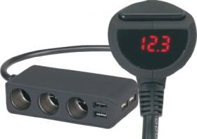 3-Way-Lighter-Socket-Splitter-with-4-USB-Ports on sale