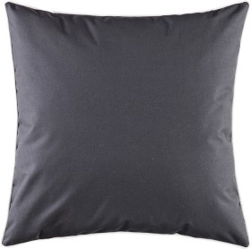 Piped-Square-Cushion-50x50cm-in-Black on sale