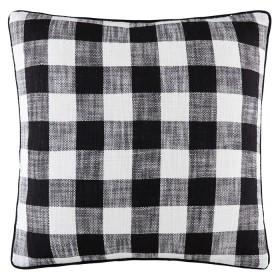 Louna-Cushion-50x50cm-in-Black on sale