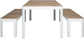 Adelphi-3-Piece-Dining-Package-209cm-in-White on sale