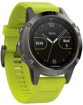 Garmin-Fenix-5-AMP-Yellow-GPS-Watch on sale