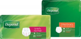 Depend-Briefs-Normal-Unisex on sale