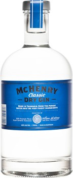 McHenry-Classic-Dry-Gin-Tasmania-700mL on sale
