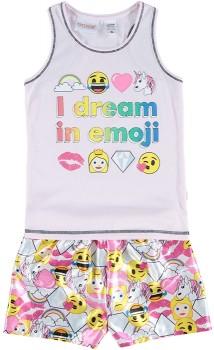 Girls-Emoji-PJ-Set on sale