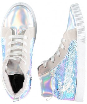Girls-Sequin-High-Top-Shoes on sale