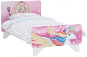 NEW-Barbie-Dreamtopia-Unicorn-Single-Bed on sale