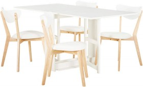 Hayman-5-Piece-Dining-Set-with-Toto-Chairs on sale