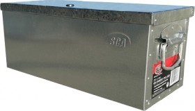 SCA-25-Litre-Galvanised-Tool-Box on sale