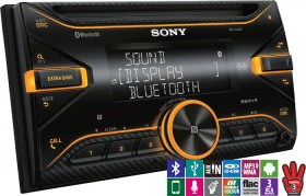 Sony-Double-Din-CDDigital-Media-Player-with-Bluetooth on sale