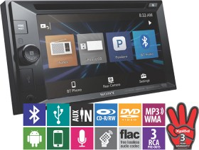 Sony-6.2-Touchscreen-DVDMedia-Player-with-Bluetooth on sale