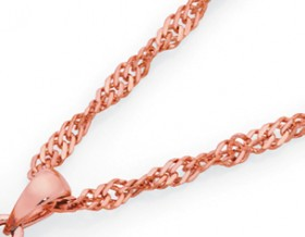 9ct-Rose-Gold-45cm-Chain on sale