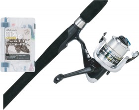 Shakespeare-Catch-More-Fish-Flathead-Fighta-7-3-6kg-Spin-Combo on sale