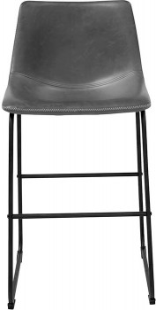 Saddle-Counter-Stool-in-Black on sale