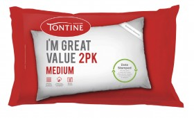 Tontine-Great-Value-Standard-Pillow-2-Pack on sale