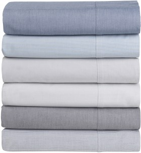 Dri-Glo-250-Thread-Count-Cotton-Chambray-Sheet-Sets on sale