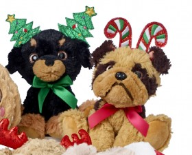 Jolly-Joy-Headband-Puppy-Plush-Toy on sale