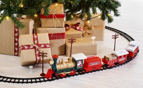 Christmas-Train-Set-29-Piece on sale