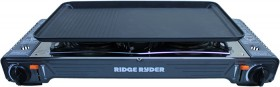Ridge-Ryder-Double-Burner-Butane-Stove on sale