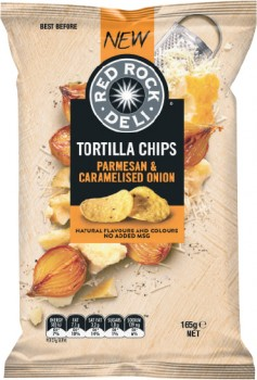 Red-Rock-Deli-Corn-Chips-165g on sale
