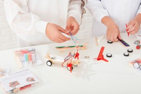 Funbox-DIY-Wooden-Airplane-Kit on sale