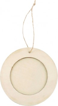 Shamrock-Round-Wood-Craft-Frames on sale