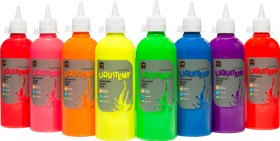 Educational-Colours-Fluorescent-Liquitemp-Poster-Paint on sale