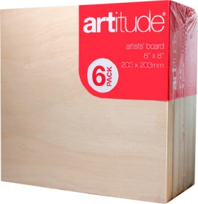 Artitude-Artists-Board-Value-Packs on sale