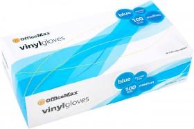 OfficeMax-Blue-Vinyl-Gloves-Powder-Free on sale