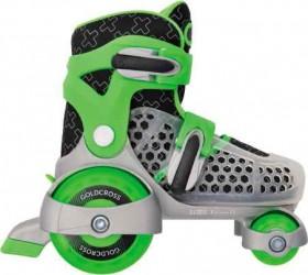 Goldcross-145-Skates-Green on sale