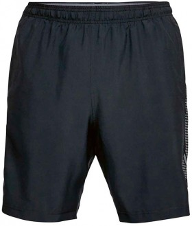 Under-Armour-Woven-Graphic-Training-Shorts-Black on sale