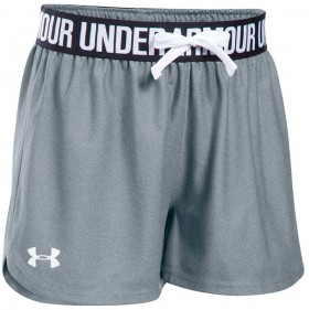 Under-Armour-Girls-Play-Up-Shorts-GreyWhite on sale