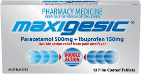 Maxigesic-12-Tablets on sale