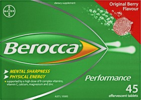 Berocca-Performance-45-Effervescent-Tablets-Original-Berry on sale