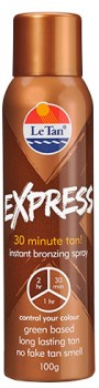 Le-Tan-Express-Instant-Bronzing-Spray-100g on sale