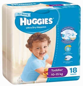 Huggies-Selected-Nappies-For-Boys on sale