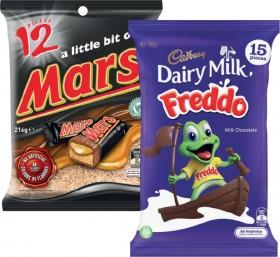 Cadbury-Sharepack-168g-180g-or-Mars-Medium-Funsize-144g-216g on sale