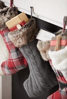 Bouclair-Nordic-Retreat-Plaid-Stocking on sale