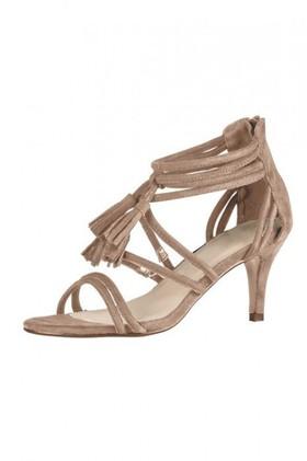 Jody-Tassels-Sandal-Heel on sale