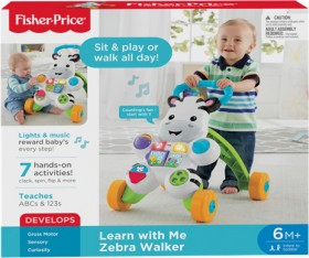 Fisher-Price-Learn-with-Me-Zebra-Walker on sale
