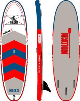Molokai-Inflatable-Kama-II-106-SUP-Board-Navy on sale