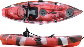 Glide-Volador-Combo-Kayak-Pack-RedBlack on sale