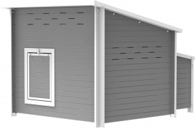 EcoFLEX-Chicken-House-Barn-Grey on sale