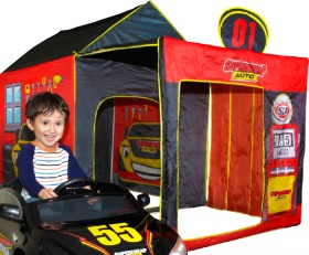 Play-Tent-Garage on sale
