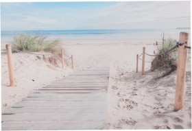 Beach-Path-Wall-Art on sale